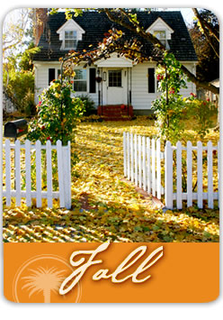 fall landscape services